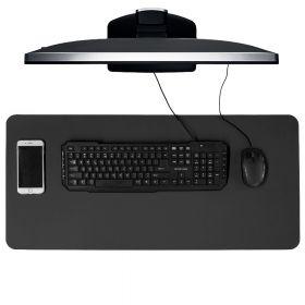 bureaumat zwart 40x85 cm