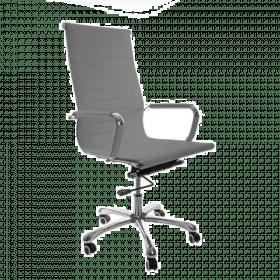 grijze design bureaustoel