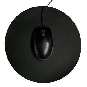 Muismat rond 26 cm - Zwart