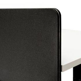 scheidingswand voor dubbel bureau 160 cm