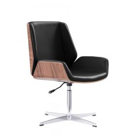 Chaise de réunion Milano - Noir