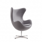 Fauteuil Oeuf - Gris