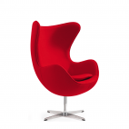 Fauteuil Oeuf - Rouge